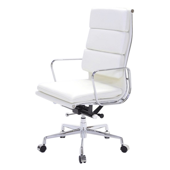 Chaoscollection Rakuten Global Market Eames アルミナムチェア - White leather office chairs