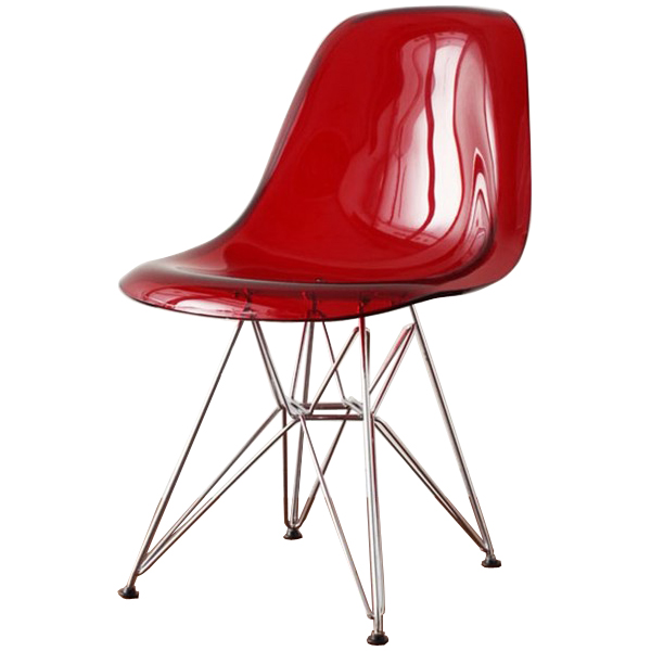 Ordinaire Eames DSR Clear Red