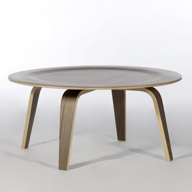 chaoscollection: Eames CTW coffee table Walnut   Rakuten ...