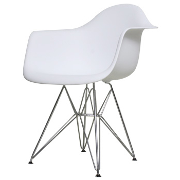 Eames DAR PP White アームシェルチェア Shell Chair Dining Chair