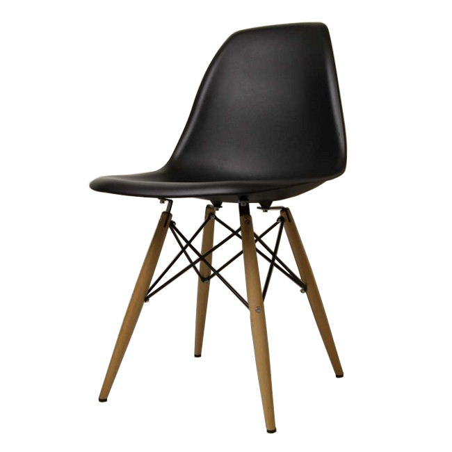 Eames DSW Gloss Without Black Shell Chair Eames Chair