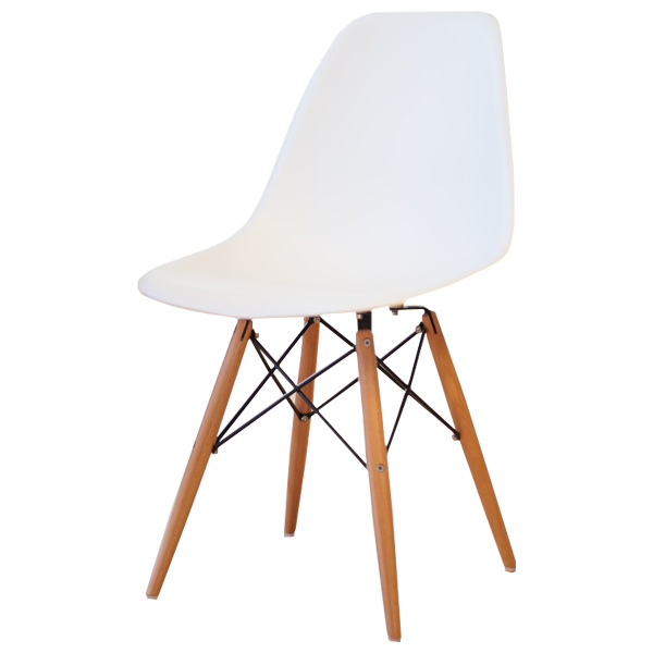 Eames Dsw Pp Polypropylene White Shell Chair Dining