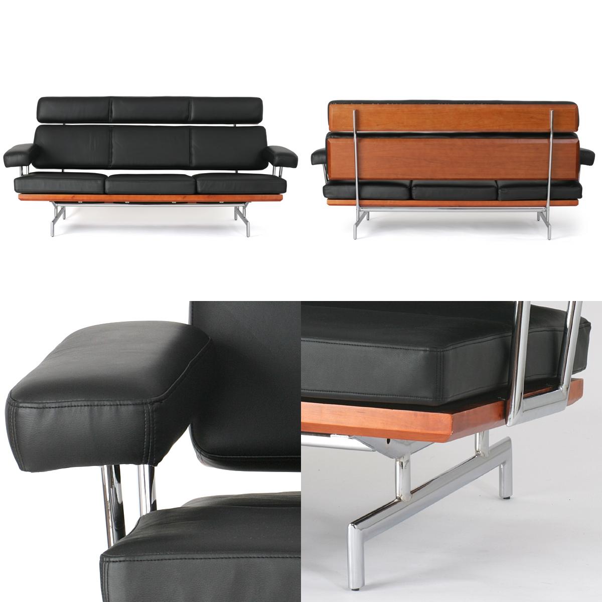 Eames 3 Seat Sofa Replica Sofa Menzilperde Net Eames Compact Sofa Replica