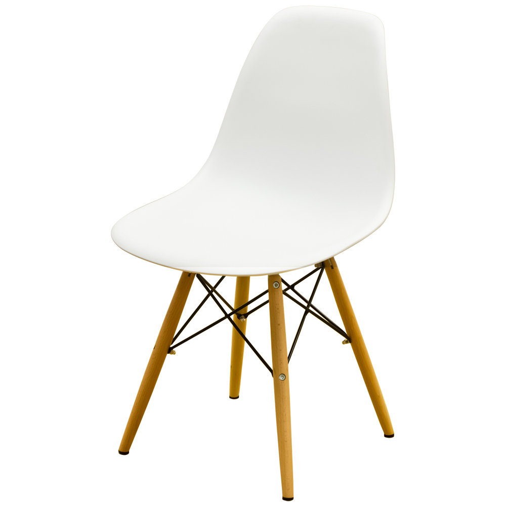 eames shell chair dsw white eames chair - Eames Stuhl Dsw