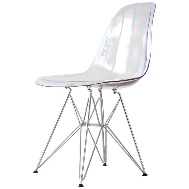 Eames shell Chair DSR clear