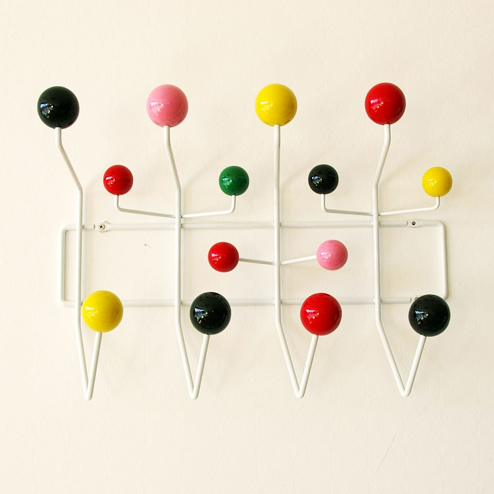 Eames Hang It All (hang It All) It Is A Multi Colored.