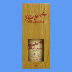 お酒 ギフト プレゼント ウイスキー グレンファークラス ファミリーカスク 1993 57° 700ml ≪木箱入り≫