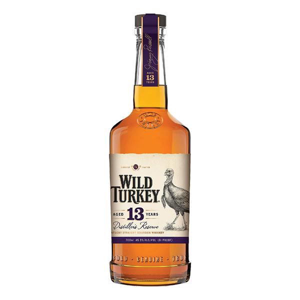 お酒 ギフト プレゼント ワイルドターキー 13年 ディスティラーズ リザーブ 45.5° 700ml