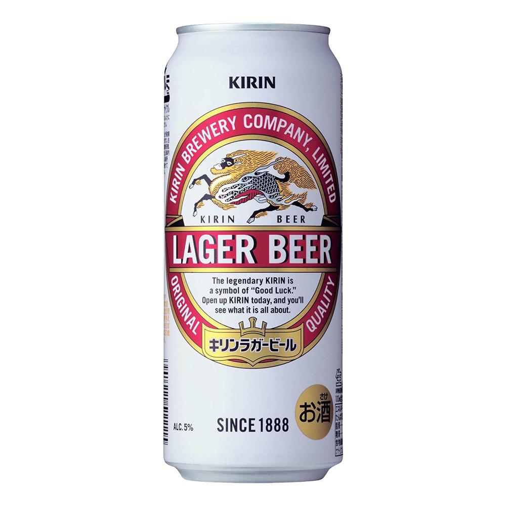 お酒 ギフト プレゼント キリン ラガー500ml ケース ( 24本入り )