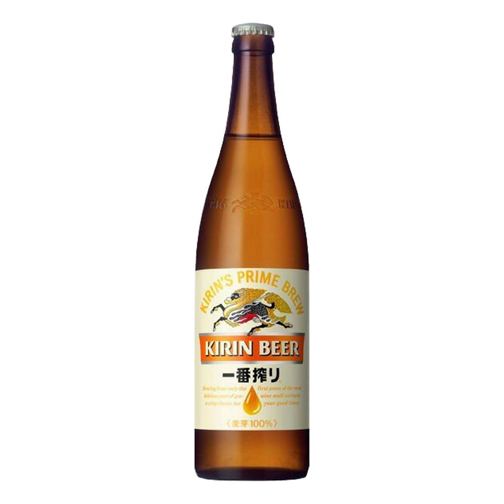 お酒 ギフト プレゼント ビール キリン 一番搾り 大瓶 633ml 瓶ビール ケース ( 20本入り )【 条件付き送料無料 】