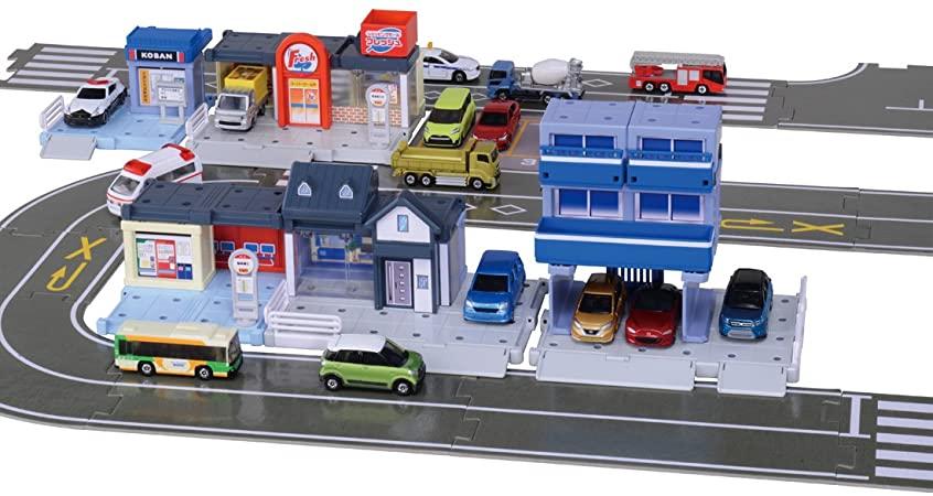 トミカ トミカタウンビルドシティ 街をつくろう アイデアいっぱいタウンセット