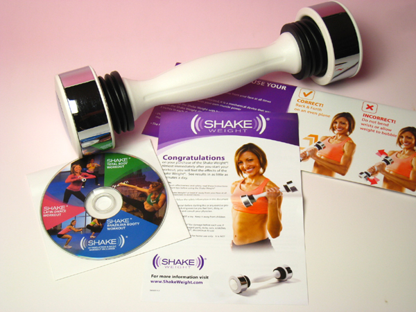 Appeared on TV! In the United States with a popular Sheik wait for women Shake Weight dumbbell
