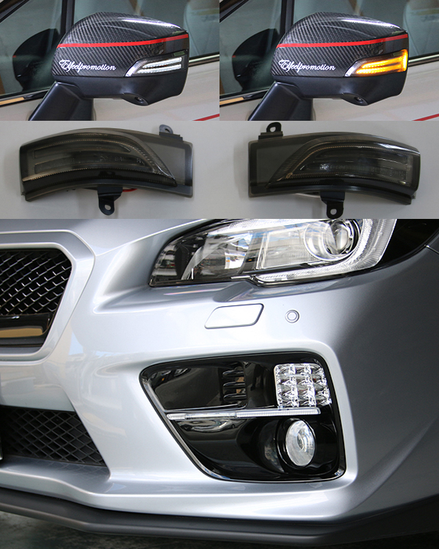 WRX STI VAB S4 VAG A型 S4 VAG B型 C型 + LEDフロントインジケーター IS-1CC + LEDドアミラーウインカー DWS-1S, テンピュール:84922365 --- officewill.xsrv.jp