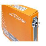 【代引無料】ALLIGATOR 『LY-BSTSK761617』LY-BSTSK761617 ATB/MTBブレーキ用インナーケーブル BOX シルバー [151-00041]