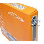 【代引無料】ALLIGATOR 『LY-BPT6101617』LY-BPT6101617 ROADブレーキ用インナーケーブル P.T.F.Eコート BOX ブラック [151-00044]