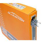 【代引無料】ALLIGATOR 『LY-SPT43520』LY-SPT43520 ATB/MTB/ROAD シフト用 インナーケーブル P.T.F.Eコート BOX ブラック [151-00062]