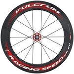 【代引無料】FULCRUM 『RSxlr80Rtu_UD』Racing Speed XLR 80 チューブラー 完組みホイール リアのみ カンパニョーロ(1142655) [0274280001]