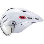 【代引無料】OGK 『AERO-K2_L_pw』エアロ-K2 ヘルメット(シールド付) パールホワイト L/XL [0303330002]