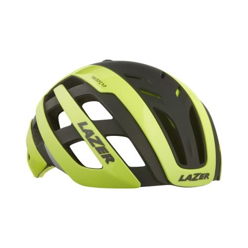 【即納】【代引・送料無料】LAZER (レーザー) R2LA854063X センチュリー M(55-59cm)ヘルメット フラッシュイエローブラック [R2LA854063X]