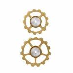 【代引無料】BERNER BERNER セラミック プーリーセット (13T/15T) ゴールド [TRI-860026]