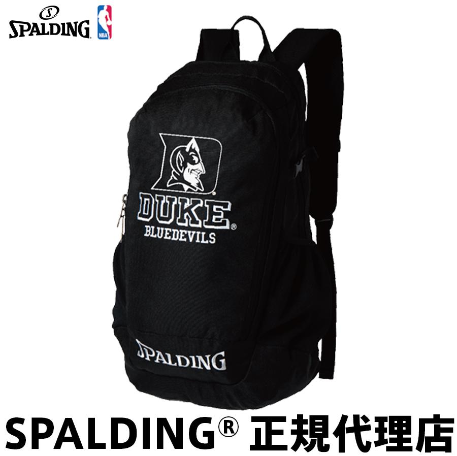 バスケットボール バックパック リュック DUKE クルーバッグ SPALDING スポルディング