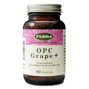 OPCグレープ+ プラス 【90カプセル】 FLORA(フローラ社) オーピーシーグレーププラス、フローラ・ハウス OPCグレーププラス