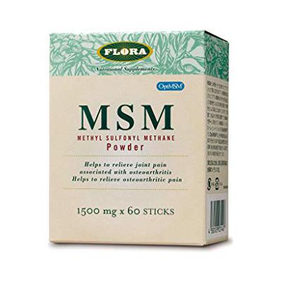 MSMパウダー【1500mgx60包】 FLORA(フローラ社) MSM(メチル・スルフォニル・メタン) (フローラ・ハウス)
