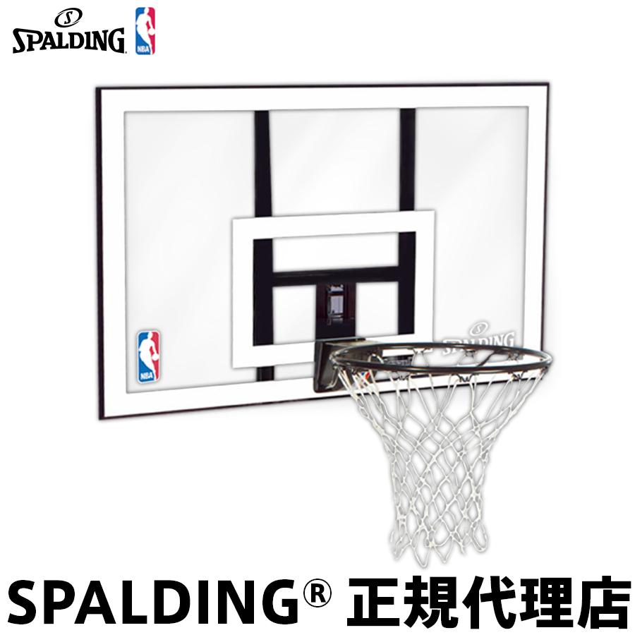 【5月下旬頃発送予定商品の予約販売です】 バスケットゴール バックボード SPALDING スポルディング NBA COMBO NBAコンボ 家庭用 屋外用 組立サービスなし