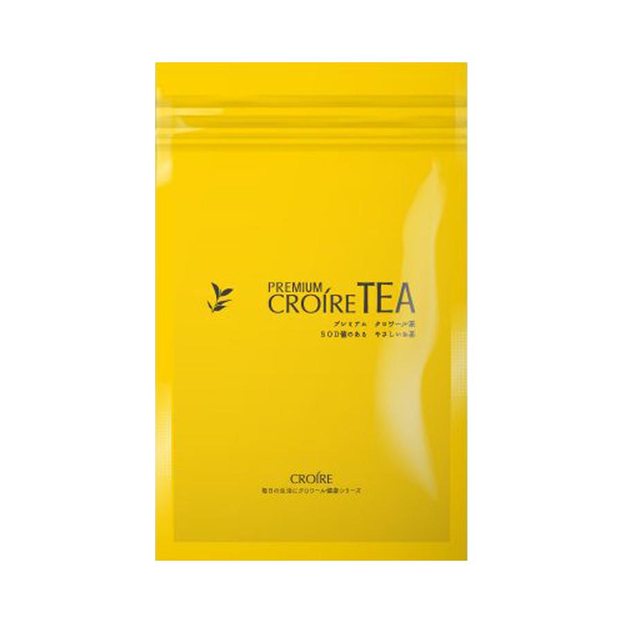 プレミアムクロワール茶1袋(25包入)体にやさしいお茶SOD値が54万単位から64万単位になりました!PREMIUM CROIRE TEAクロワールプラスが新しくなりました