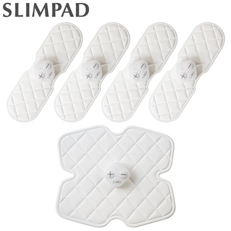 スリムパッド パーフェクトセット (フィット4台 コア1台) Slimpad PERFECT SET CL-EP-306 CL-EP-307 メーカー1年保証 EMS ダイエット 腹筋 二の腕 ヒップアップ 太もも スレンダー くびれ 筋肉