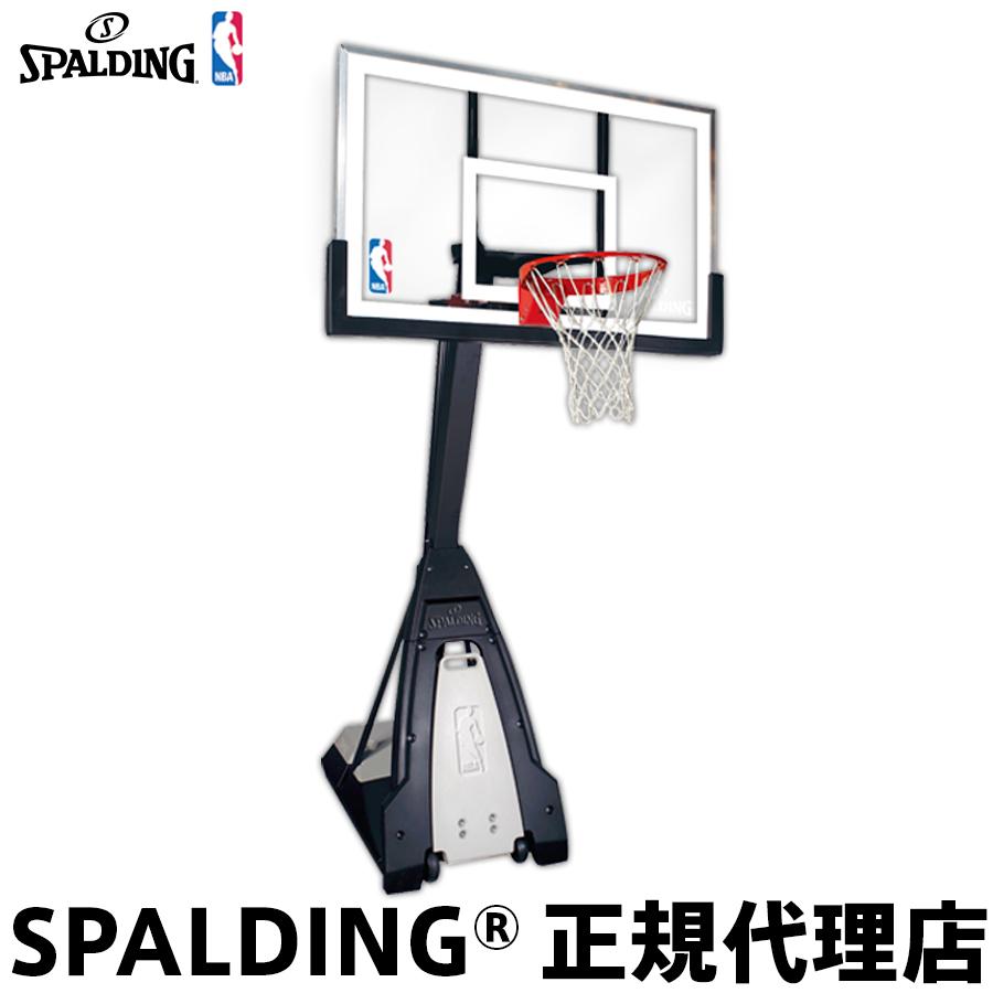 バスケットゴール バックボードSPALDING スポルディングTHE BEAST ザ・ビースト家庭用 屋外用 組立サービスなし