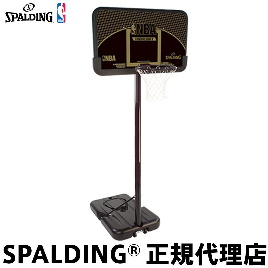 バスケットゴール バックボードSPALDING スポルディングHIGHLIGHT COMPOSITE ハイライトコンポジット家庭用 屋外用 組立サービスなし