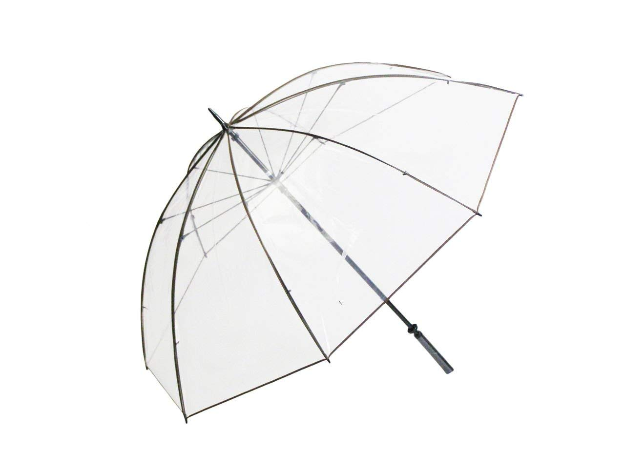 テラ・ボゼンホワイトローズ社の超特大サイズの透明傘!(透明傘 高級ビニール傘)テラボゼン ホワイトローズ社 大人気ビニールかさ