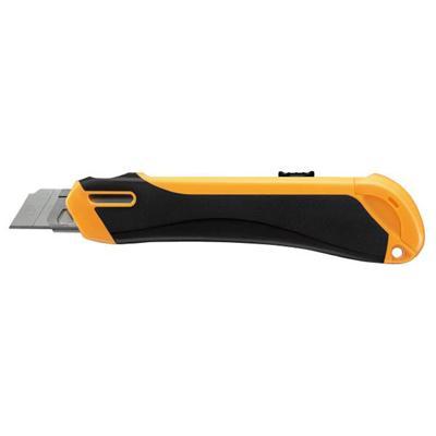 【コクヨ】安心構造カッターナイフ本体・大型オレンジ HA-S200YR【送料無料】【配送方法は選べません】