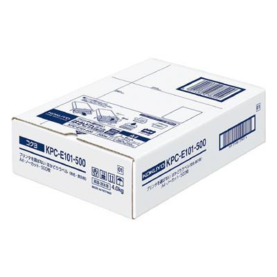 【コクヨ】プリンタを選ばないはかどりラベル KPC-E101-500N【送料無料】【配送方法は選べません】