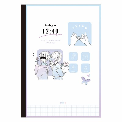 カミオジャパン LIKEオルチャン B5クロスノート ガールズ 201837 数量限定アウトレット最安価格 送料0円