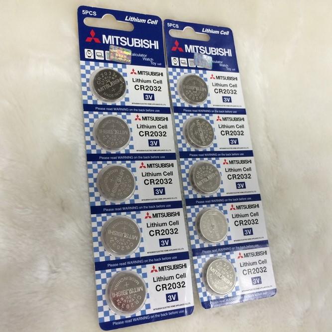 日本ブランド電池まとめ買いがお得 卸売特価 三菱 低廉 ボタン電池 10個セット 結婚祝い CR2032 メール便送料無料