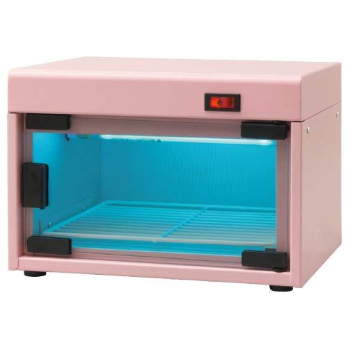 小型紫外線消毒・保管庫 サントスボーテ ピンク