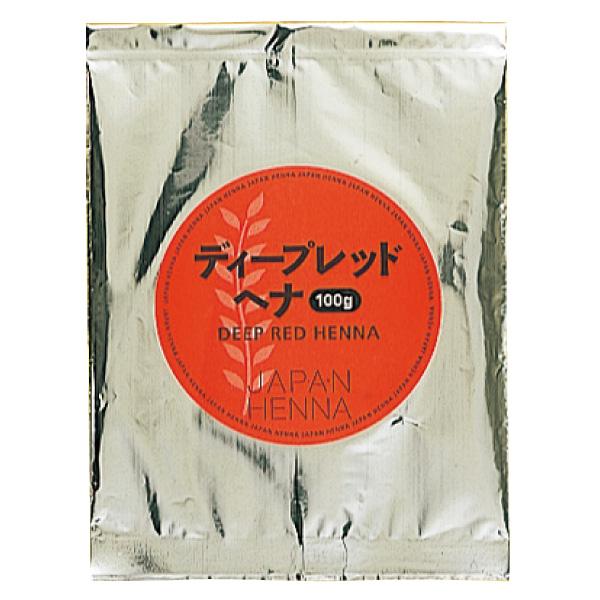 当店はサロン専売が盛りだくさん! 5%OFFクーポン配布中! ジャパンヘナ ベースヘナ ディープレッド 100g