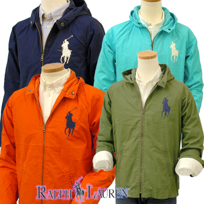 Hooded Ralph Big Boy's Lauren By Waimea Pony Windbreaker Polo Ju1c35TFKl