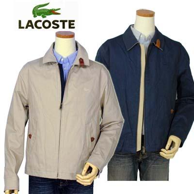 【全商品10%OFFクーポン】Lacoste ラコステ Men'sコットンウィンドブレーカー【ラコステ】【送料無料】