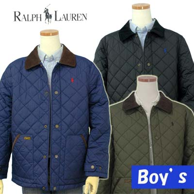 POLO by Ralph Lauren Boy'sコーデュロイ衿 キルトジャケット【ラルフローレン ボーイズ】【楽ギフ_包装選択】【送料無料】