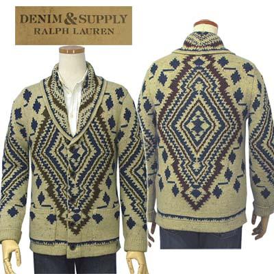 【全商品10%OFFクーポン】DENIM & SUPPLY by Ralph Laurenショールカラーカーディガン【ラルフローレン】【送料無料】