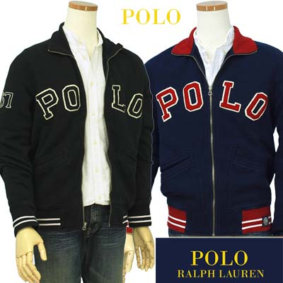 【全商品10%OFFクーポン】POLO by Ralph Lauren Men'sアップリケPOLOトラックジャケット【ラルフローレン】【送料無料】