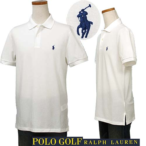 【全商品10%OFFクーポン】POLO Golf Ralph Lauren半袖鹿の子ポロシャツ【2018-Spring/NewColor】【ラルフローレン】XL,大きいサイズ【送料無料】ギフト