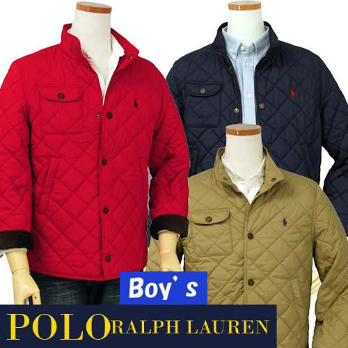 POLO by Ralph Lauren Boy'sキルトジャケット【2015-Fall/NewColor】【ラルフローレン ボーイズ】【送料無料】
