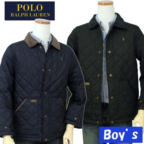 POLO by Ralph Lauren Boy'sキルトコーデュロイ衿ジャケット【2015-Fall/NewColor】【ラルフローレン ボーイズ】【送料無料】