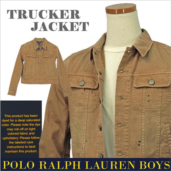 POLO Ralph Lauren Boy'sトラッカージャケット【2018-Spring/NewModel】【ラルフローレン Gジャン】【送料無料】