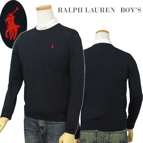 【全商品10%OFFクーポン】POLO by Ralph Lauren Boy'sメリノウール セーター【2018-Fall/NewModel】ラルフローレン セーター