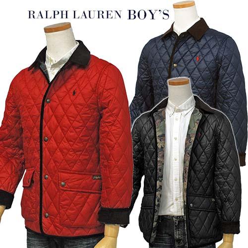 【全商品10%OFFクーポン】POLO Ralph Lauren Boy'sケンプトン キルトジャケット【2018-Fall/NewModel】ラルフローレン キルトジャケット